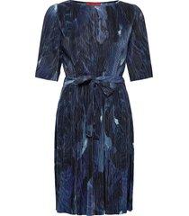 prestigi kort klänning blå max&co.