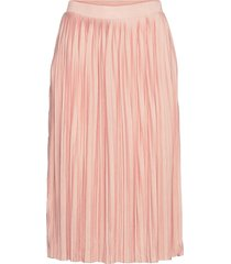 vipliss midi skirt knälång kjol rosa vila