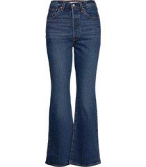 ribcage boot turn up jeans wijde pijpen blauw levi´s women