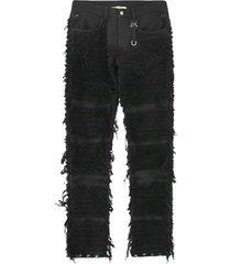 blackmeans 6 pocket jean with nylon buckle