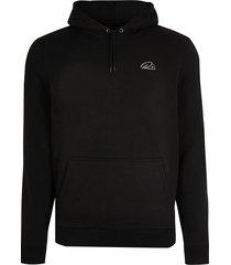 river island mens big & tall black ri slim fit hoodie