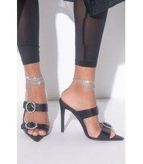 akira diamonds are my bestie layered anklet