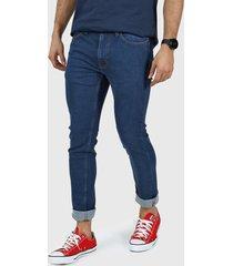 jean azul levi's 519 extreme skinny - dark refrsh