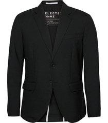 slhreg-stock blz b blazer colbert zwart selected homme