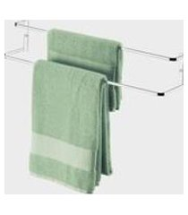 suporte para toalha de banho vantaggio 45 cm x 10 cm x 12 cm
