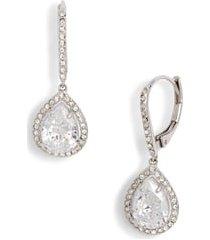 women's nordstrom cubic zirconia drop earrings