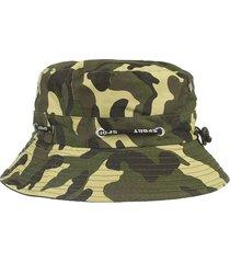 cappello in cotone da uomo estivo in cotone traspirante con cappuccio secchio cappello da spiaggia all'aperto