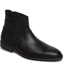 tall shoes chelsea boots svart sneaky steve
