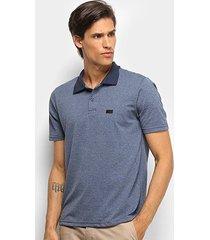 camisa polo burn basic masculina