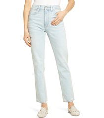 slvrlake virginia high waist cigarette jeans, size 27 in love song at nordstrom