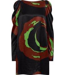 rodebjer novena jurk knielengte zwart rodebjer