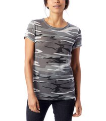 alternative apparel ideal printed eco-jersey t-shirt
