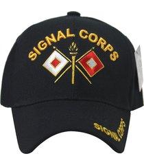 us military army signal corps hat baseball cap velcro