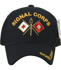 us military army signal corps hat baseball cap velcro