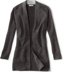 cashmere open front cardigan sweater