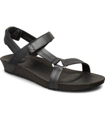 w ysidro universal - metallic shoes summer shoes flat sandals svart teva