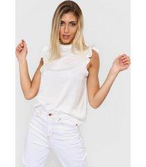 blusa blanca nano amanda
