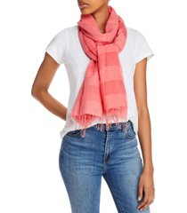 eileen fisher striped organic scarf