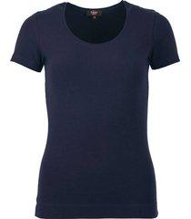 t-shirt basis donkerblauw