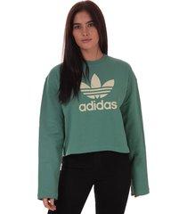 womens premium crew sweatshirt
