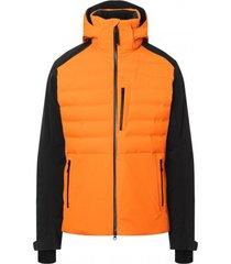 bogner ski jas men erik bright orange-maat