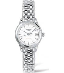 women's longines flagship automatic bracelet watch, 26mm