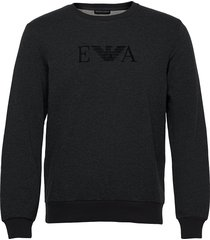 sweater sweat-shirt tröja grå emporio armani