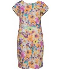 sukienka dwustronna w kwiaty