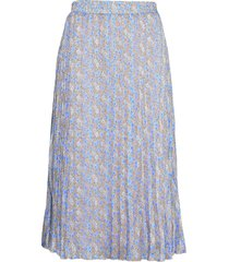 lr-harvest knälång kjol blå levete room