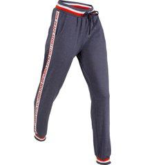 pantaloni in felpa lunghi livello 1 (blu) - bpc bonprix collection