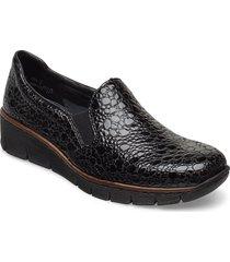 53766-45 loafers låga skor svart rieker