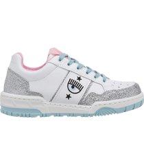 scarpe sneakers donna in pelle cf-1