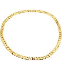 collana dorata lucidata dell'acciaio inossidabile