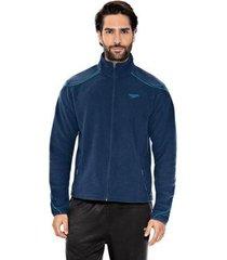 jaqueta esportiva speedo fleece masculina