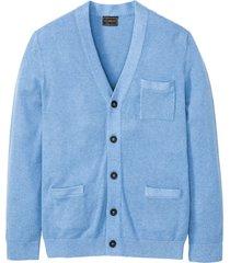 cardigan con cachemire (blu) - bpc selection