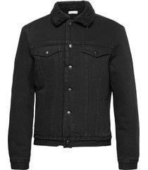 alder jacket jeansjack denimjack zwart allsaints