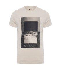 t-shirt masculina oceano - off white
