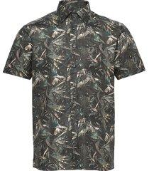 8830 - state n 2 soft st overhemd met korte mouwen groen sand