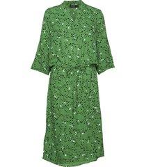 sl zaya dress knälång klänning grön soaked in luxury