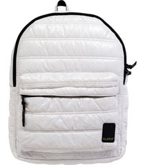 mochila classic reguar ghost white blanco bubba bags