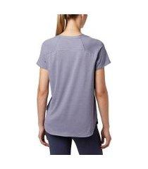 camiseta columbia firwood camp ii feminina