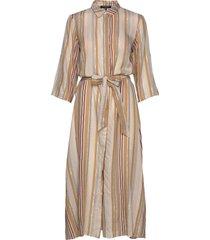 dress knälång klänning beige ilse jacobsen