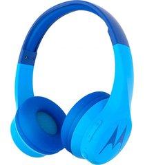 audifonos squad 300 bluetooth azul motorola