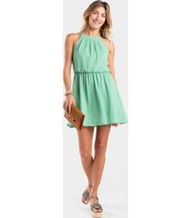 kasey solid flawless dress - mint
