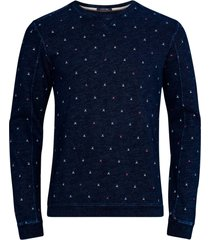 sweatshirt ams blauw indigo sweat