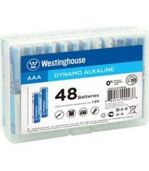 westinghouse aa dynamo alkaline 48pk in storage case