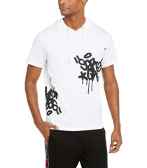inc men's supersonic short-sleeve hoodie, created for macy's