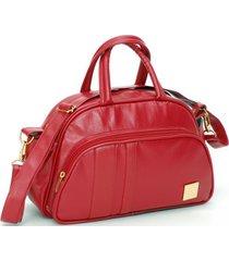 frasqueira fashion kastanheira vermelha