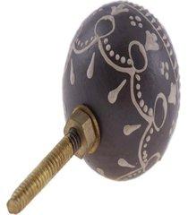 puxador- pashmina- puxador porta madeira- marrom