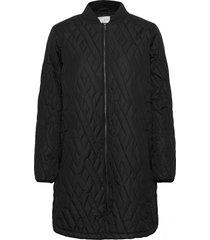 sc-fenya doorgestikte jas zwart soyaconcept